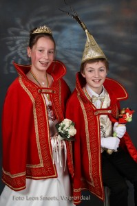 Prins Mathijs I en Prinses Rachelle I